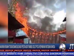 Berita Video : Kebakaran Rumah Tongkonan di Lokasi Pesta Adat Rambu Solo' Picu Kepanikan Ratusan Warga